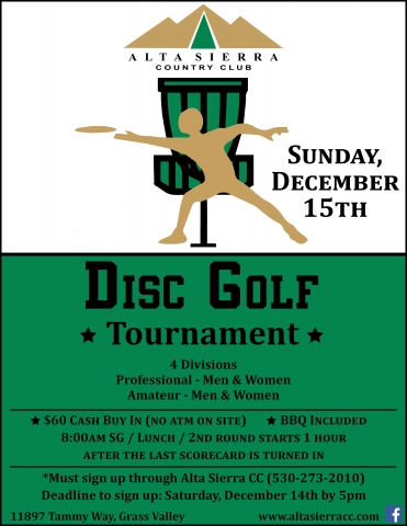Disc Golf Tourney December FINAL
